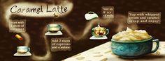 Caramel Latte by Melissa Marroquin