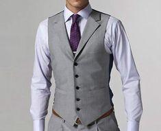 Custom Made to Measure Cinza homens ternos, feitos sob medida Casamento smokings para homens, Terno Noivo