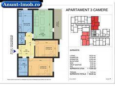 Anunturi Imobiliare Apartament -3 camere-80 mp-IMGB