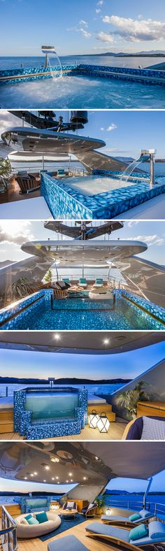 Franco Pecchioli Ceramica #Yacht swimming-pools