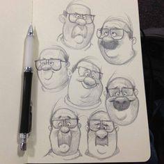 キャラクターも、書き方によって 顔が七変化するんだね。 自分の顔も、人に笑ってもらえるような 愉快な顔を表現したいね。