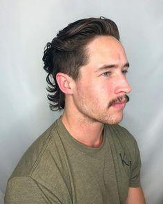 Fohawk Haircut Fade, Mullet Haircut, Mullet Hairstyle, Undercut Hairstyles, Hairstyles Haircuts, Mens Fade Haircut, Mullet Fade, Mens Mullet, Short Mullet