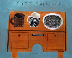 1950s Sideboard by Elaine Pamphilon