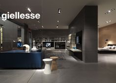 Giellesse - Milan 2014 official images. Showcasing their Day  Night Collections - perfect for living rooms and bedrooms. For more information contact the UK Agent Team on rooms@moretti-rosini.com
