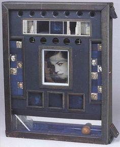 Art object: Joseph Cornell boxes