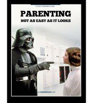 Because it is Star Wars day! So get in the mood with these awesome LDS Star Wars memes. I promise you'll feel the force. Thats The Way, That Way, Parenting Quotes, Parenting Tips, Funny Parenting, Star Wars Meme, Mal Humor, Nerd Humor, Darth Vader