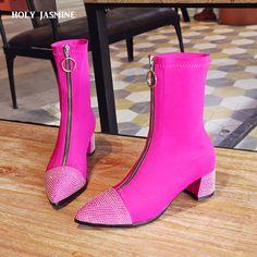 b3d92050fd Cheap 2018 otoño nuevo Puma online mujeres botas de tobillo botas de punta  de las mujeres