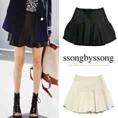 Love Song of Street Leather Skirt