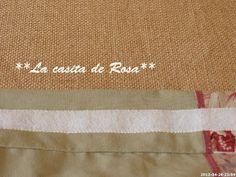 La casita de Rosa: Porta tijeras y Alfiletero con tira hilos. Patchwork Bags, Scissors, Sewing, Club, Baby Hats, Pink, Hand Soaps, Handmade Crafts, Ideas