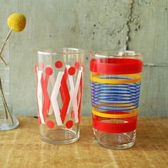 Cool kickstarter to a whole cupboard of cheerful glassware fr Vint @charlie  wright @ minor thread $12/2