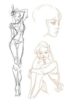 Learn To Draw People - The Female Body - Drawing On Demand Anatomy Sketches, Body Sketches, Anatomy Drawing, Anatomy Art, Art Drawings Sketches, Figure Drawing Reference, Art Reference Poses, Figure Drawing Tutorial, Drawing Body Poses