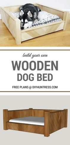 New Cost-Free DIY Custom Wooden Dog Bed – Dog house bed Tips A secure area for your dog A dog kennel is an excellent choice to offer your pets protected leave al Dog Bed Frame, Wood Dog Bed, Pallet Dog Beds, Diy Dog Bed, Large Dog Bed Diy, Homemade Dog Beds For Large Dogs, Pet Beds Diy, Diy Lit, Wooden Dog Kennels
