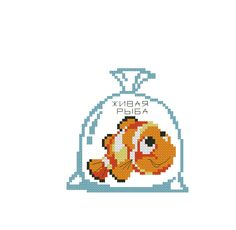 Kreuzstich Animal Crackers, Disney, Cross Stitch, Pattern, Finding Nemo, Animals Beautiful, Punto Cruz, Dots, Needlepoint
