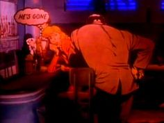 The Alan Parsons Project - Don't Answer Me - cute animated video from the early '80s