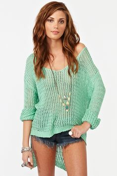 I live for this sweater in my new go-to color.  I would wear this year-round from the office to my dive bar.