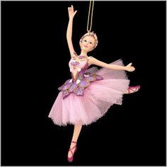 Sugar Plum Ballerina Ornament