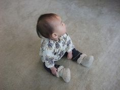 free baby boots pattern