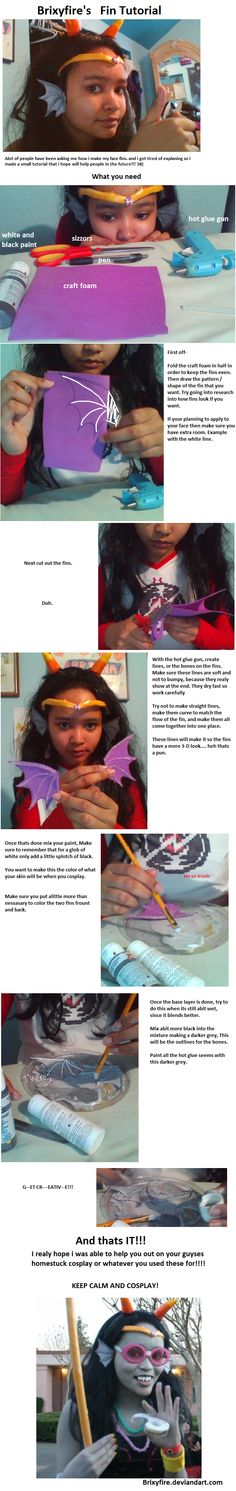 How i made my Seadweller Fins by Brixyfire.deviantart.com on @deviantART