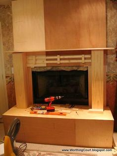 1000 images about Fireplace homemade on Pinterest