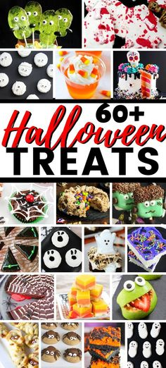 60 Halloween Treat ideas for Halloween parties or for you to enjoy at home w 60 Halloween Treat ideas for Halloween parties or for you to enjoy at home with your family! Source by Decoexchange Scary Halloween Decorations, Halloween Crafts For Kids, Halloween Desserts, Halloween Food For Party, Halloween Birthday, Holidays Halloween, Halloween Treats, Happy Halloween, Family Halloween