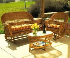 Wicker Patio Furniture | Both Classic and Contemporary Wicker Patio Furniture Sets from Wicker ...