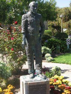 John Steinbeck - Salinas, California www.bustsofwritersandpoets.com