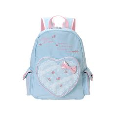 ♡Jasmine-blu ❤ liked on Polyvore featuring bags, backpacks, accessories, purses, back pack, blue backpack, backpack bags, knapsack bag, daypack bag and rucksack bags