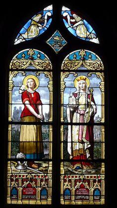 Photos de Vitraux - église Saint Aubin - Tourouvre