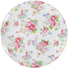 Make meal times fun with this Spray Flowers plate, made from durable melamine, ideal for kids and outdoor use.