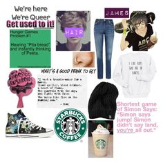 """""""Untitled #478"""" by proudsupporterofanime ❤ liked on Polyvore featuring Levi's, The North Face and Converse"""