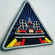 delorean Patches, Embroidery