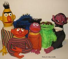 Sesame Street Puppets :)