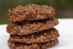 Chocolate No Bake Cookies. Just had these the other day! DELICOUSSS