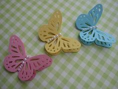 Monarch Butterfly Embellishments by vsroses.com, via Flickr