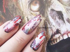 halloween zombie false nails witch zombie cosplay horror