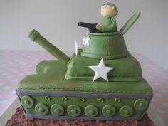 Army Tank Cake By Sugar Sweet Cakes Cakesdecorcom