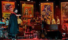 Balkan Music in Florence performed by Vinicio Capossela