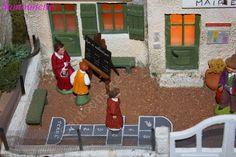 La crèche de Noël 2014 de Philippe - Santons et crèches de Provence