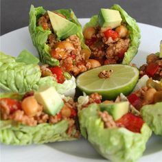 "Spicy Chipotle Lettuce Wraps I ""I made this exactly as written and thought it was delicious. Lots of flavor!"""