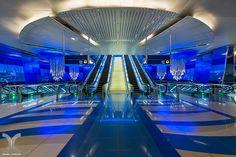 Chandelier - Jitka Skuhrava Glass, Dubaj Metro