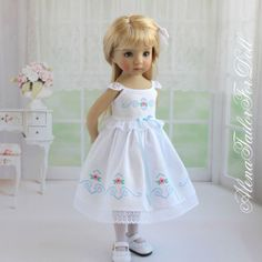 "Dress-for-Effner-Little-Darling-doll-13""-by-AlenaTailorForDoll"