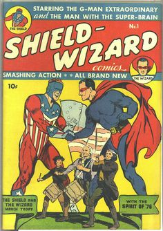 Shield Wizard Comics #1