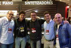 O pessoal do Double You junto com o nosso endorsee André Calore, e Fábio Augusto!