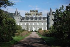 Located in western Scotland, on the original site of Inveraray village, Inveraray Castle is the seat of the Duke of Argyll, chief of Clan Campbell. It was commissioned in 1746, by Archibald Campbell, who had the village of Inveraray demolished and rebuilt, so it would not spoil the castle's view.