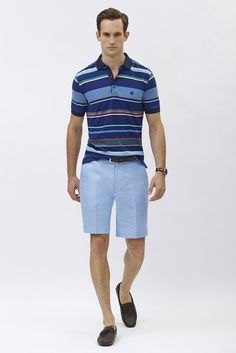 Brooks Brothers | Men's Fashion | Menswear | Casual Outfit for Spring/Summer | Moda Masculina | Shop at designercolthingfans.com