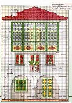 Houses.Casas.Villas.Maisons - LovingCrossStitch - Álbumes web de Picasa