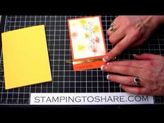 Happy Watercolor, Thank You, Kay Kalthoff, Stamping to Share, Stampin' Up!, Watercolor Wonder