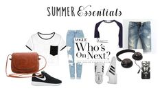"""""""casual style"""" by lim-qiqi on Polyvore featuring River Island, Topshop, NIKE, adidas and Marcelo Burlon"""