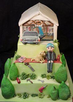 creative cake art  hobbie cakes  DIY MENS SHED 49052060 by www.creativecakeart.com.au, via Flickr