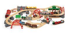 Amazon.de:Brio 33052 - Straßen und Schienen Set Deluxe